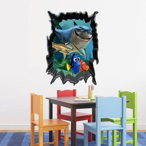 Disney Pixar Nemo Muursticker