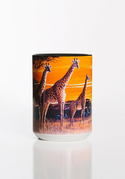 Mok Sundown Giraffes