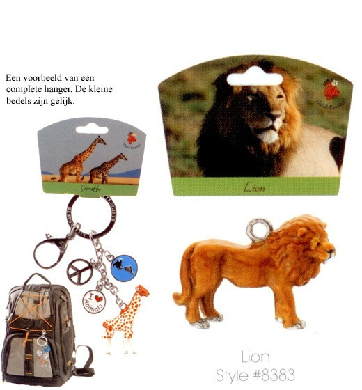 Lion - Emaille