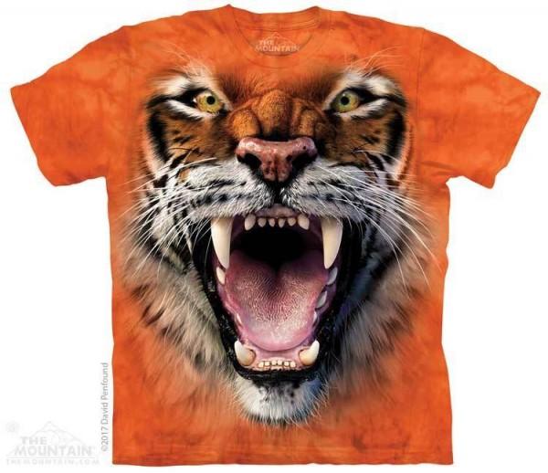 Roaring Tiger Face