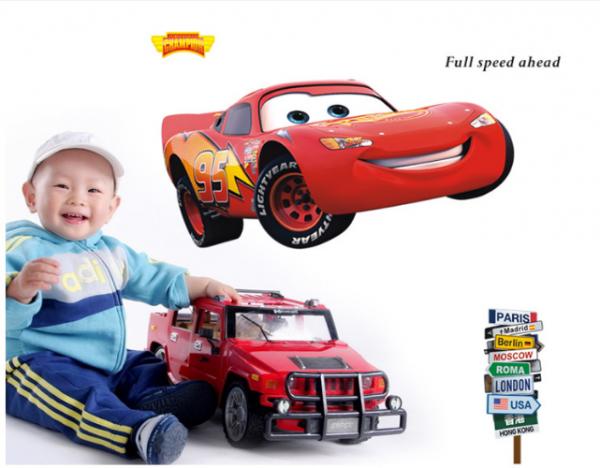 Disney Pixar Cars McQueen Muursticker