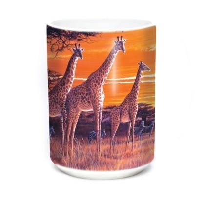 Mok Sundown Giraffes