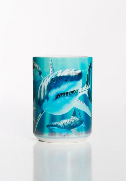 Taza Great Whites Sharks