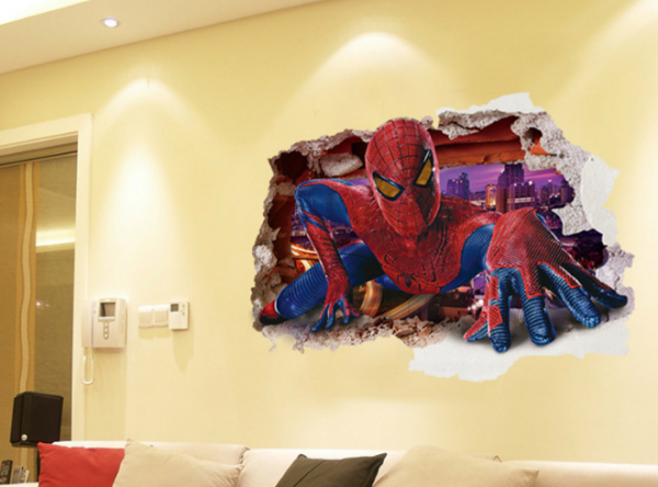Marvel's Spiderman Muursticker