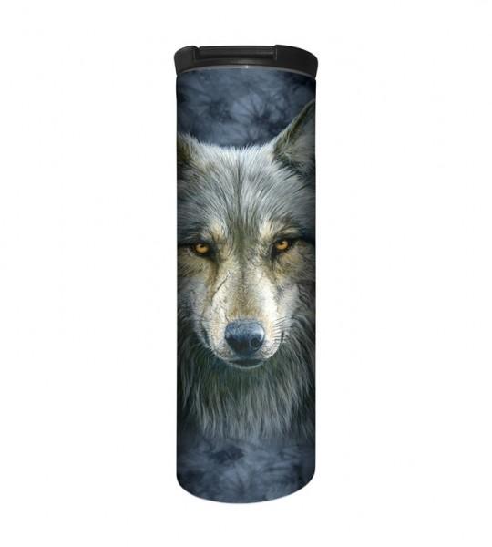 Warrior Wolf Tumbler