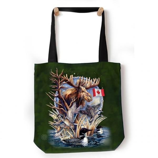 Bolso de mano Canada Loon Collage