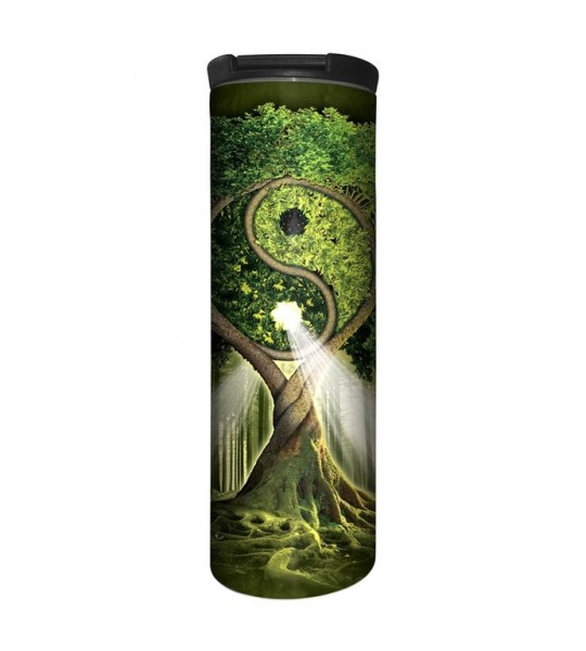 Yin Yang Tree Tumbler