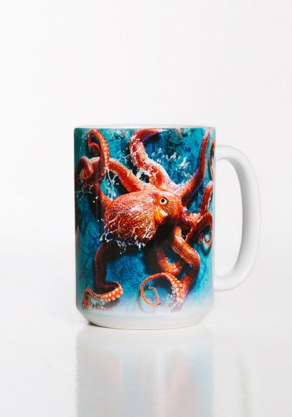 Taza Octopus Climb