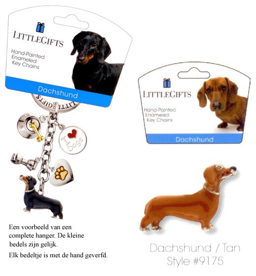 Dachshund tan - Emaille