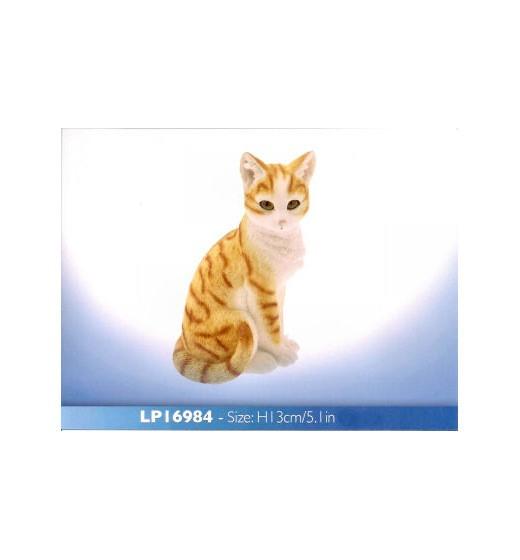 Ginger Cat sitting LP16984