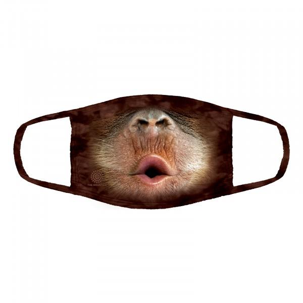 Baby Orangutan Face Mask