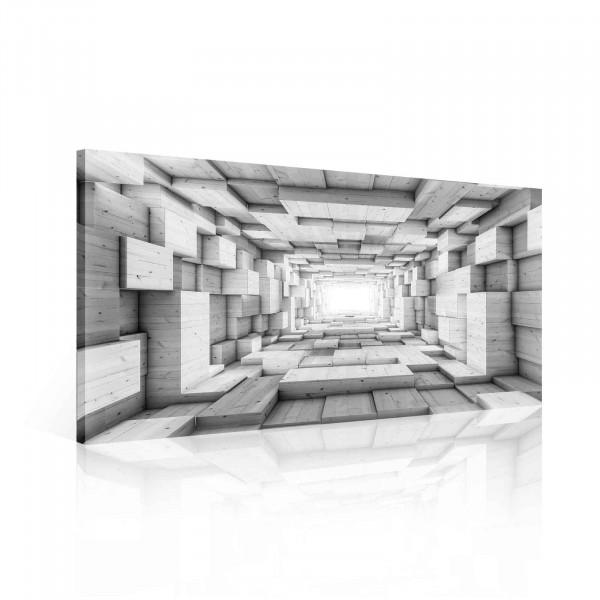 Abstract Grey Canvas Print 60cm x 40cm