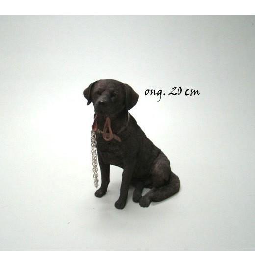 Labrador chocolate walkies LP14159
