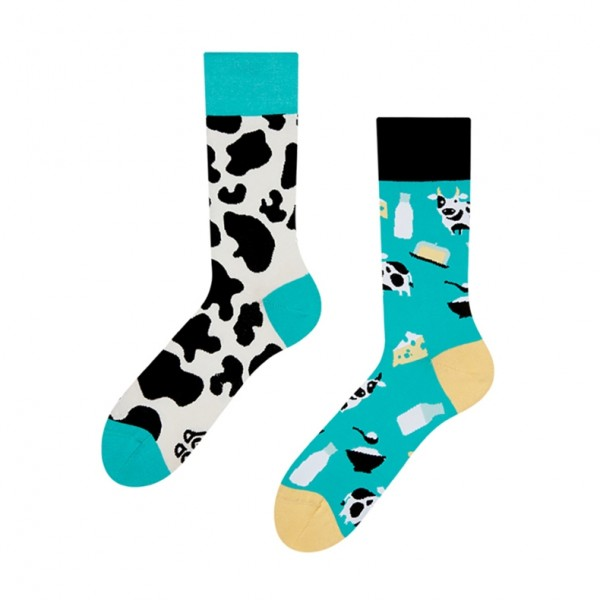 Good Mood Cow Unisex Adult Animal Socks