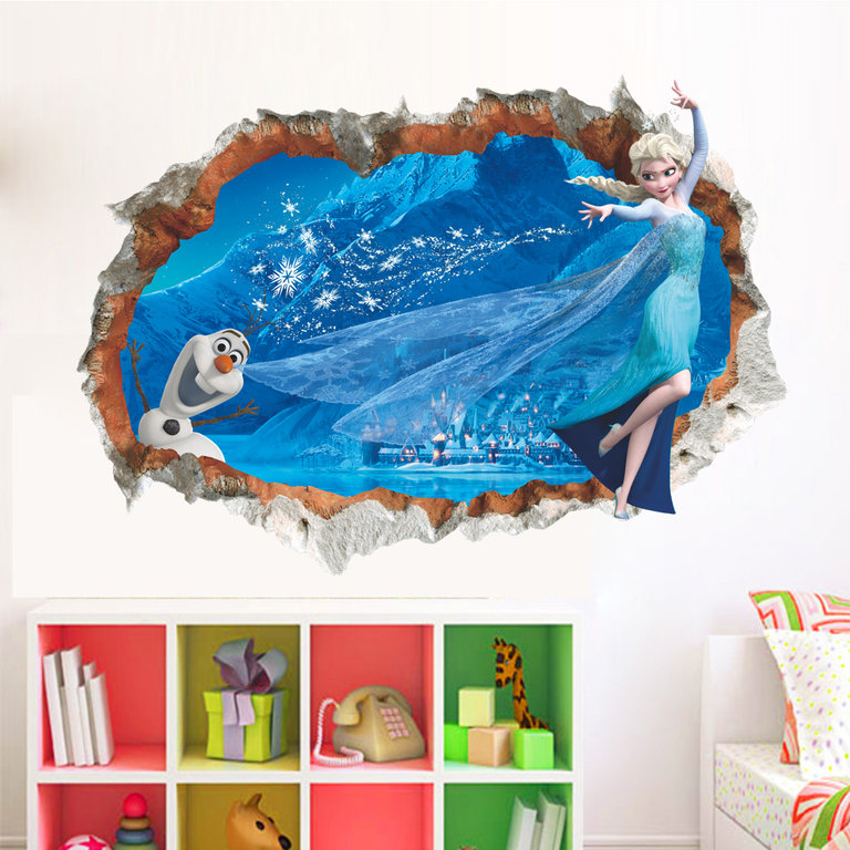 Disney S Frozen Wall Decal The Coloured House