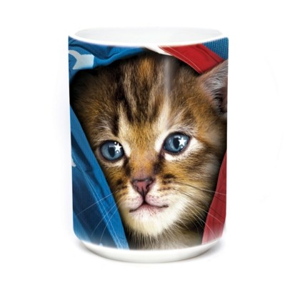Mok Patriotic Kitten