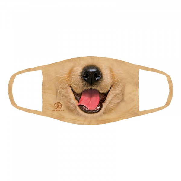 BF Golden Retriever Puppy Face Mask