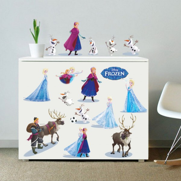 Disney's Frozen Muursticker set