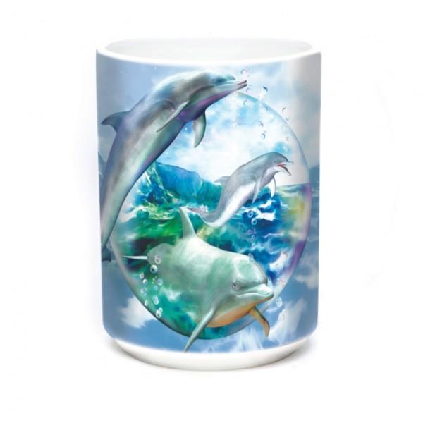 Mug Dolphin Bubble