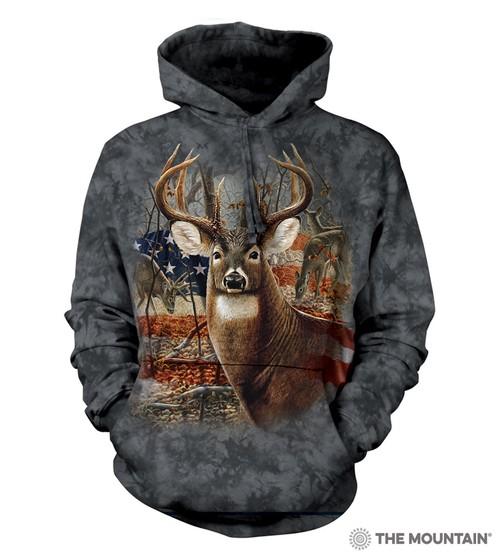 Patriotic Buck Hoodie
