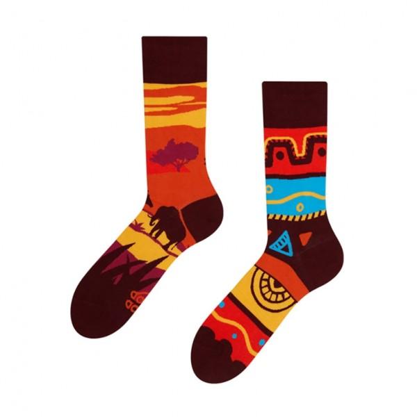 Good Mood Africa Unisex Adult Cultural Socks