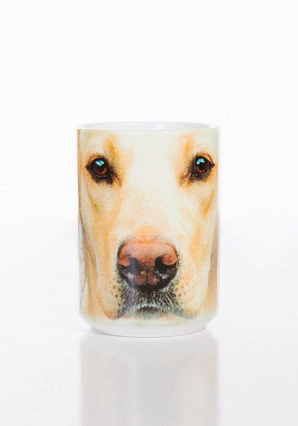 Taza Yellow Lab Face