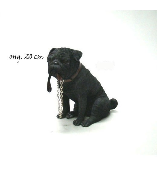 Pug zwart Walkies LP14968