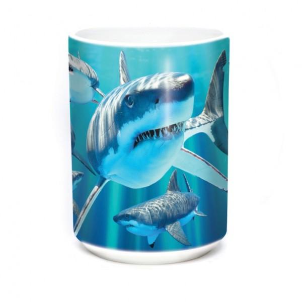 Taza Great Whites Sharks