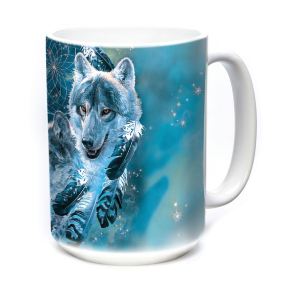 Mok Dreamcatcher Wolf Collage