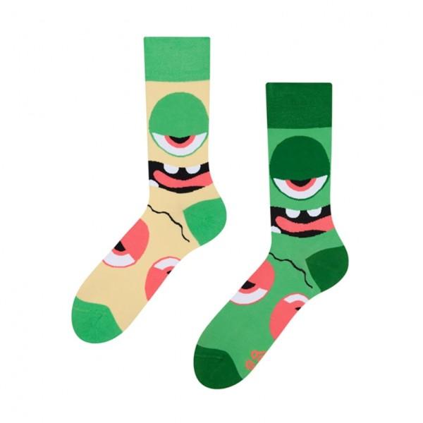 Good Mood Monsters Unisex Adult Fantasy Socks