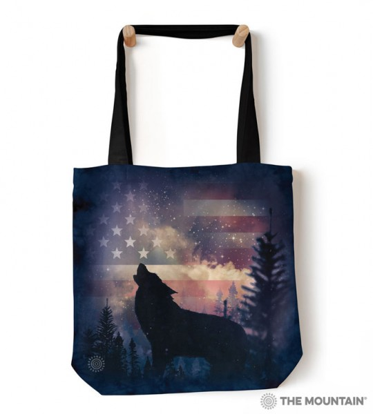 Tote Bag Patriotic Howl