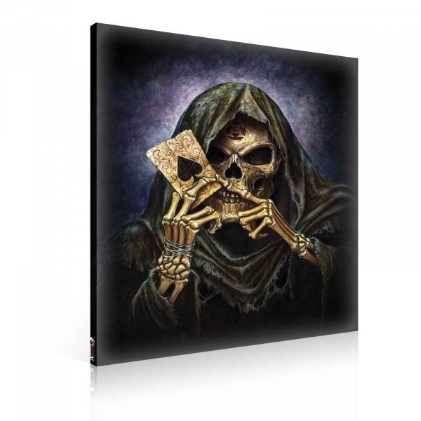 Alchemy Gothic Death Canvas Print 100cm x 75cm
