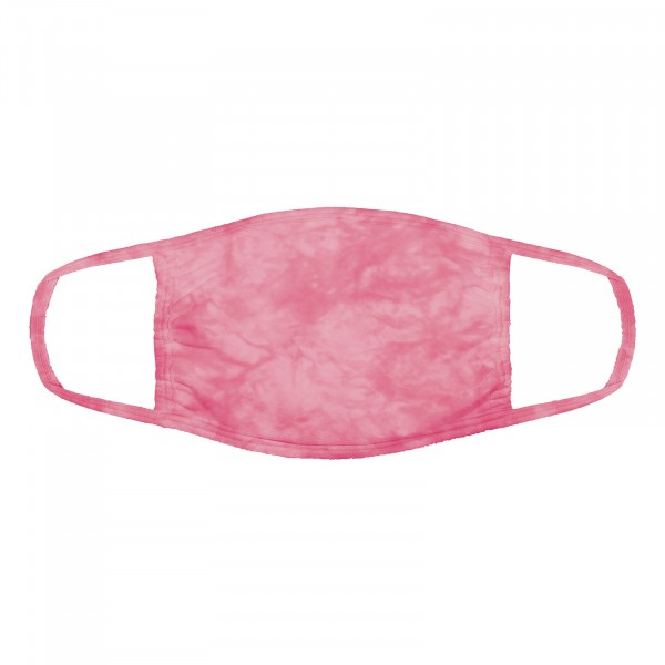 Cotton Candy Pink Face Mask