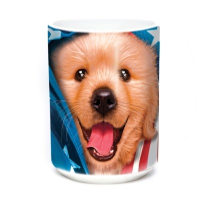 Mok Patriotic Golden Pup