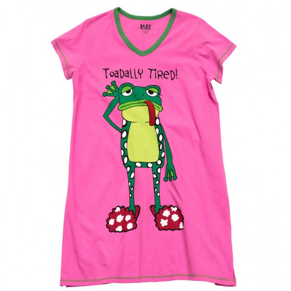 LazyOne Womens Toadally Tired