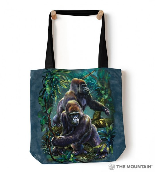 Tote Bag Gorilla Jungle