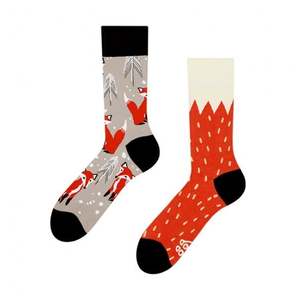 Good Mood Fox Unisex Adult Animal Socks