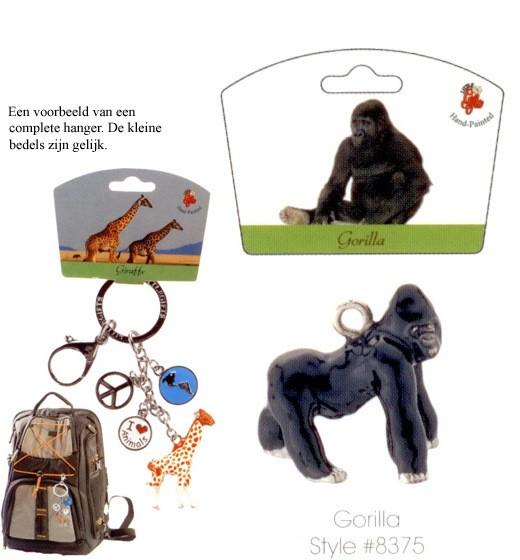 Gorilla - Emaille