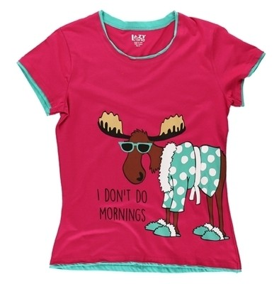 LazyOne Women Don't Do Morning Moose
