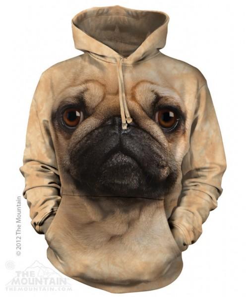 Pug Face Hoodie