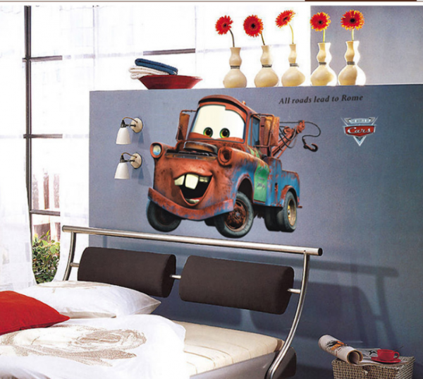 Disney Pixar Cars Takel Muursticker