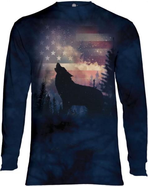 Patriotic Wolf Howl