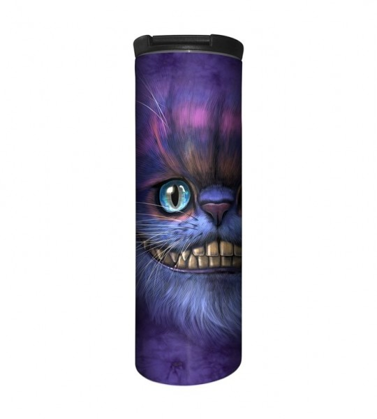 Big Face Cheshire Cat Tumbler