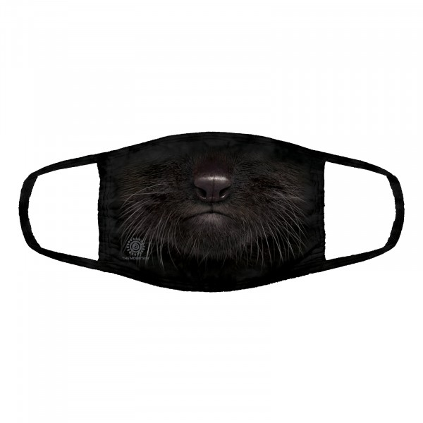 Black Kitten Face Mask