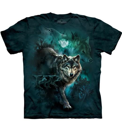 "The Mountain T-Shirt /""Wolf Heart /"""