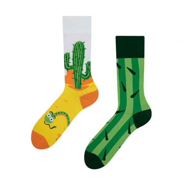Good Mood Cactus Unisex Adult Nature Socks