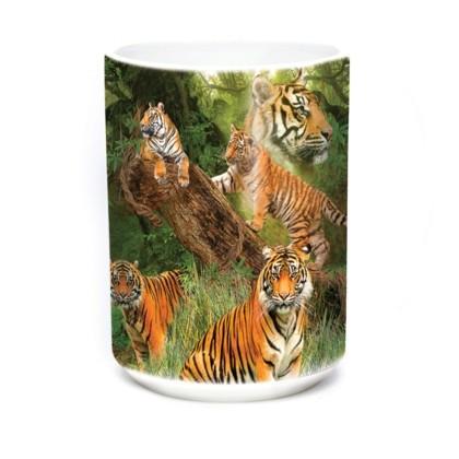 Mok Wild Tiger Collage