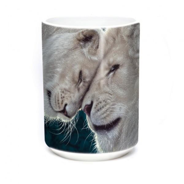 Tasse White Lions Love