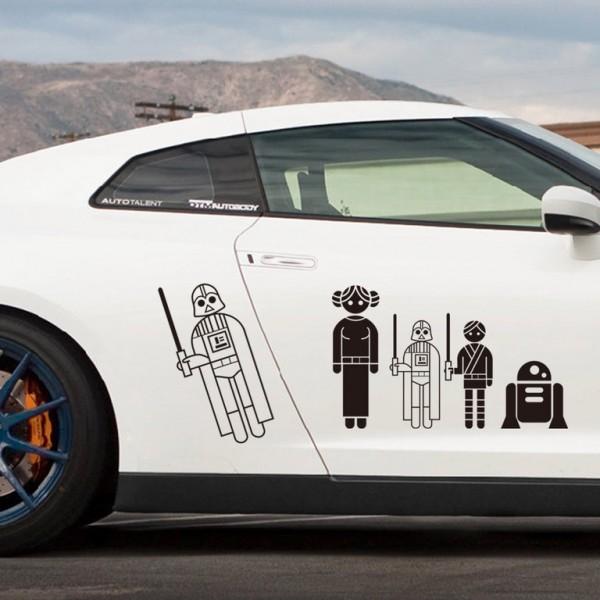Star Wars Auto Sticker Set