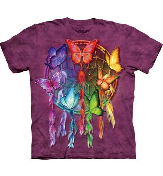 Rainbow Butterfly Dreamcatcher